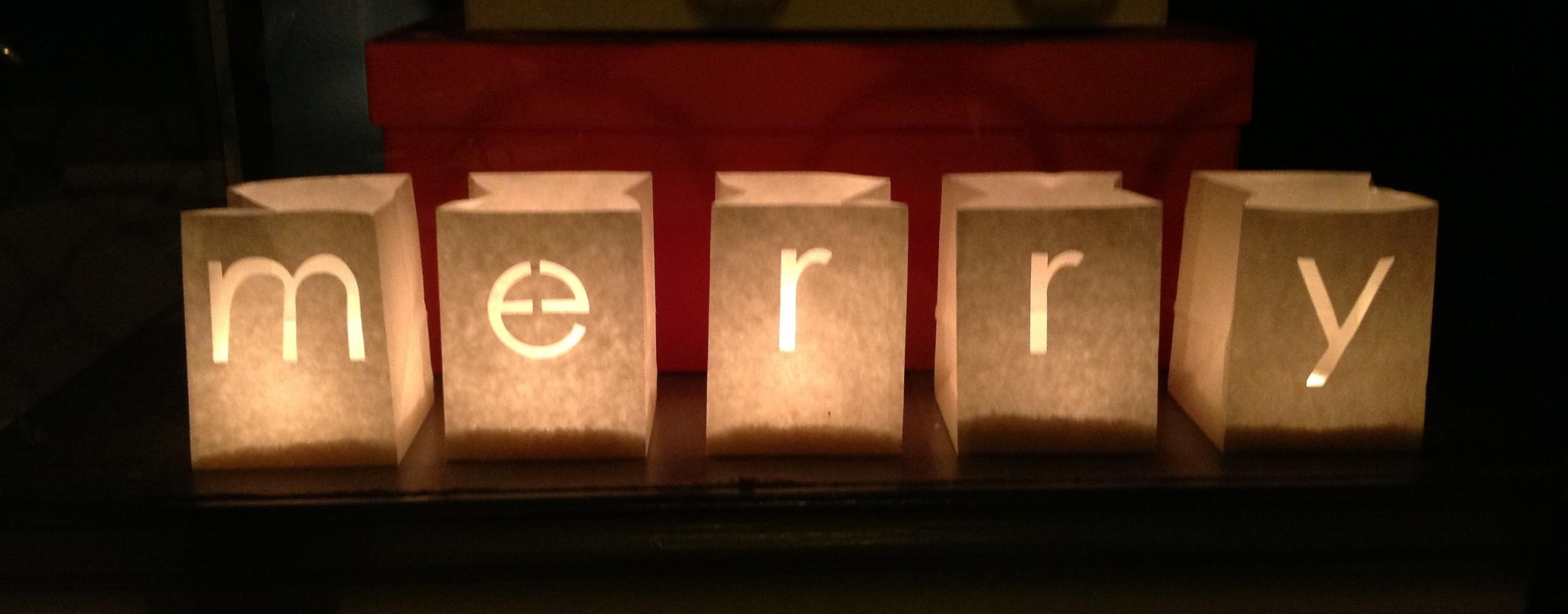 Post de navidad 2da parte tinta gris - Porta velas navidenas ...